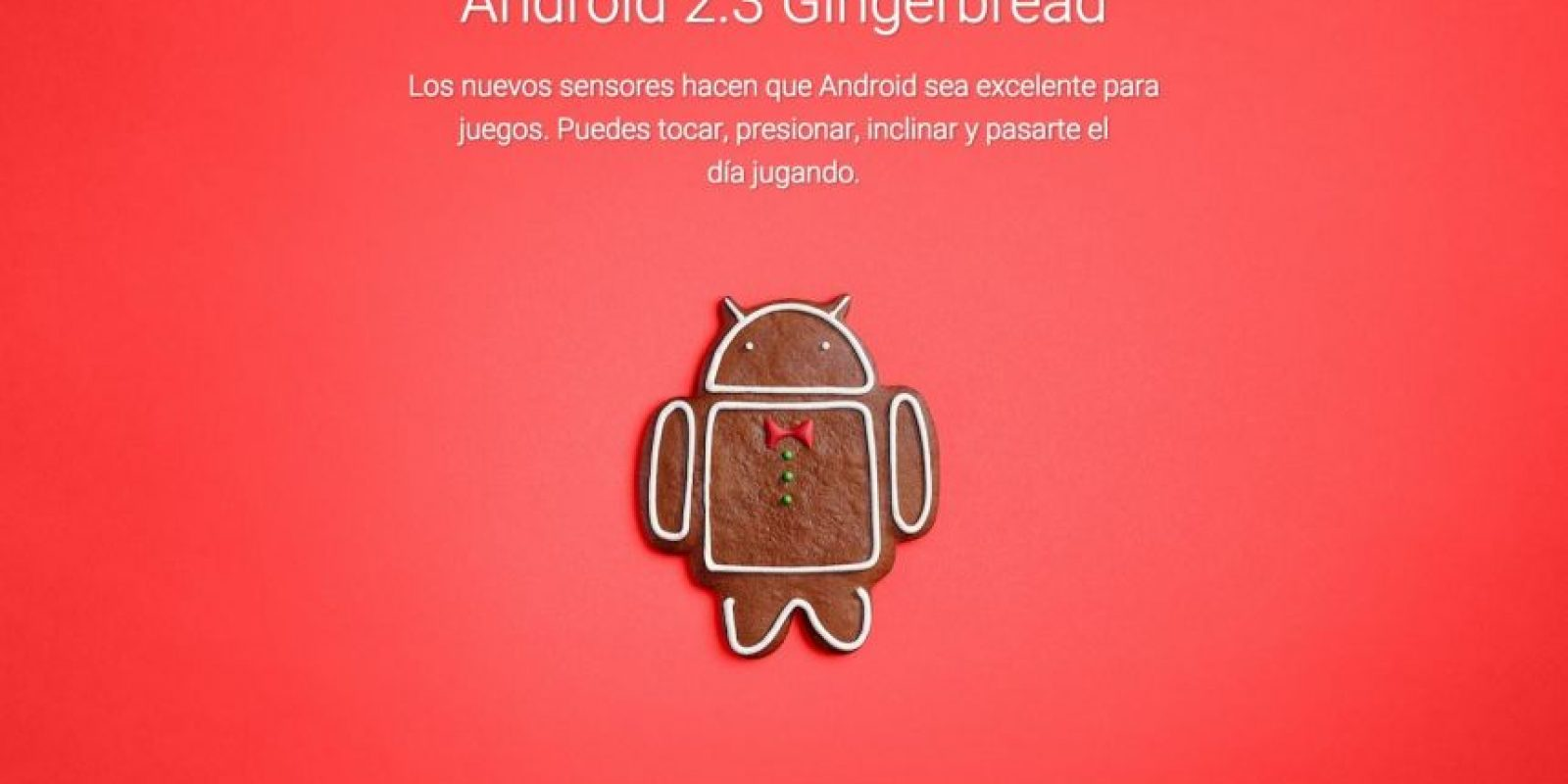 Android 2.3 Gingerbread Foto:Google