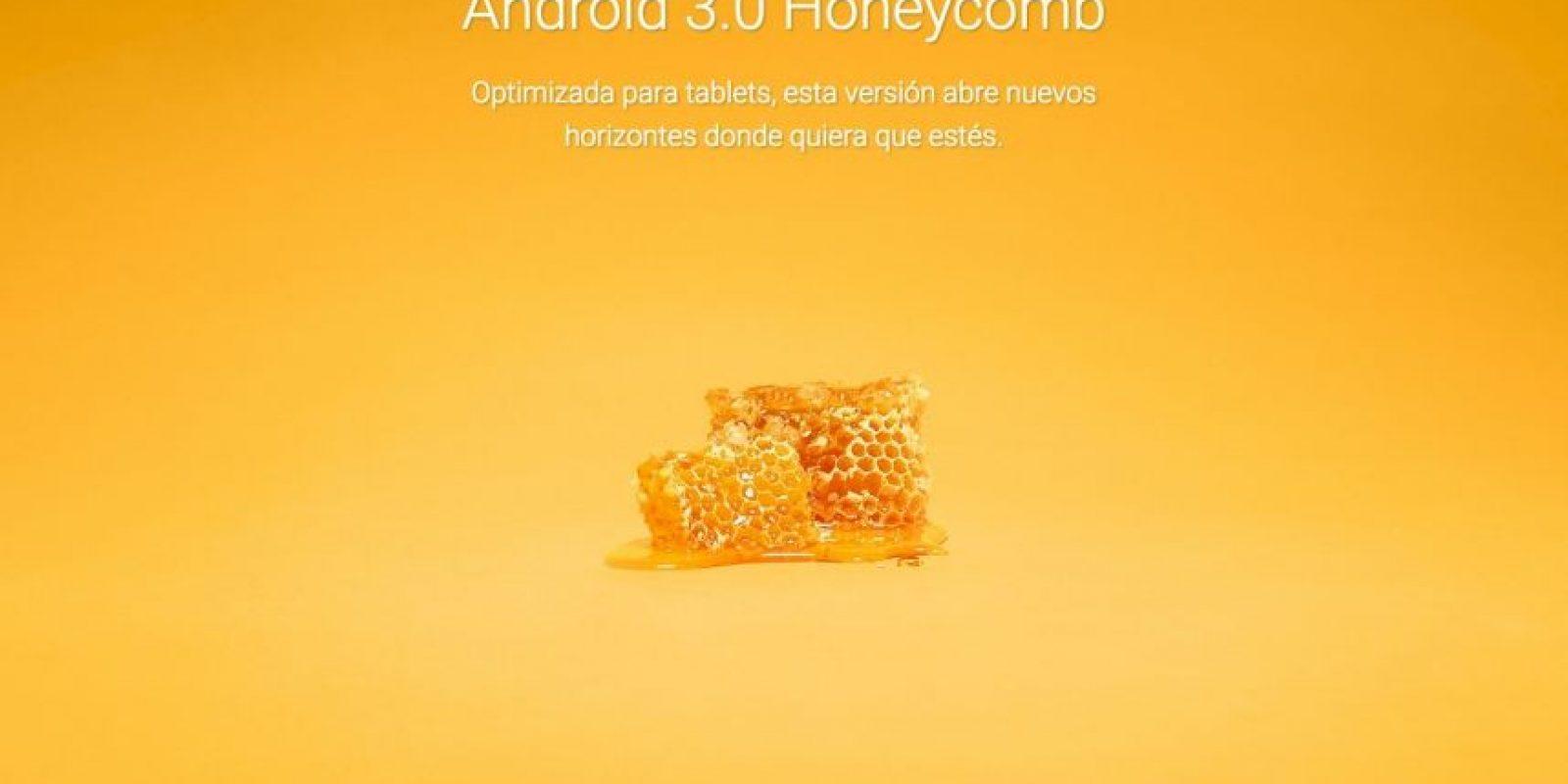 Android 3.0 Honeycomb Foto:Google