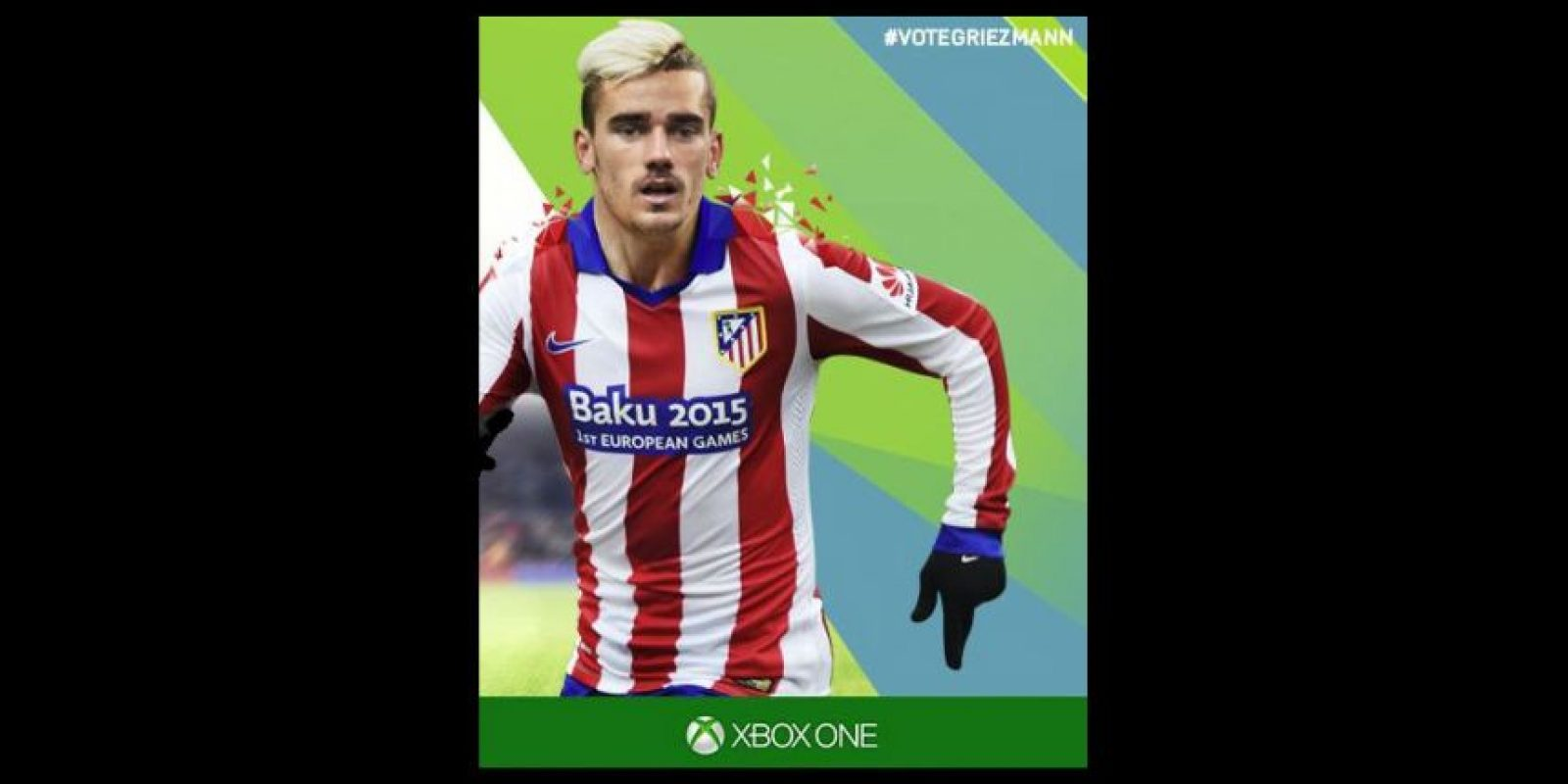 Griezmann es el goleador del club español Atlético de Madrid Foto:twitter.com/Atleticoaldia