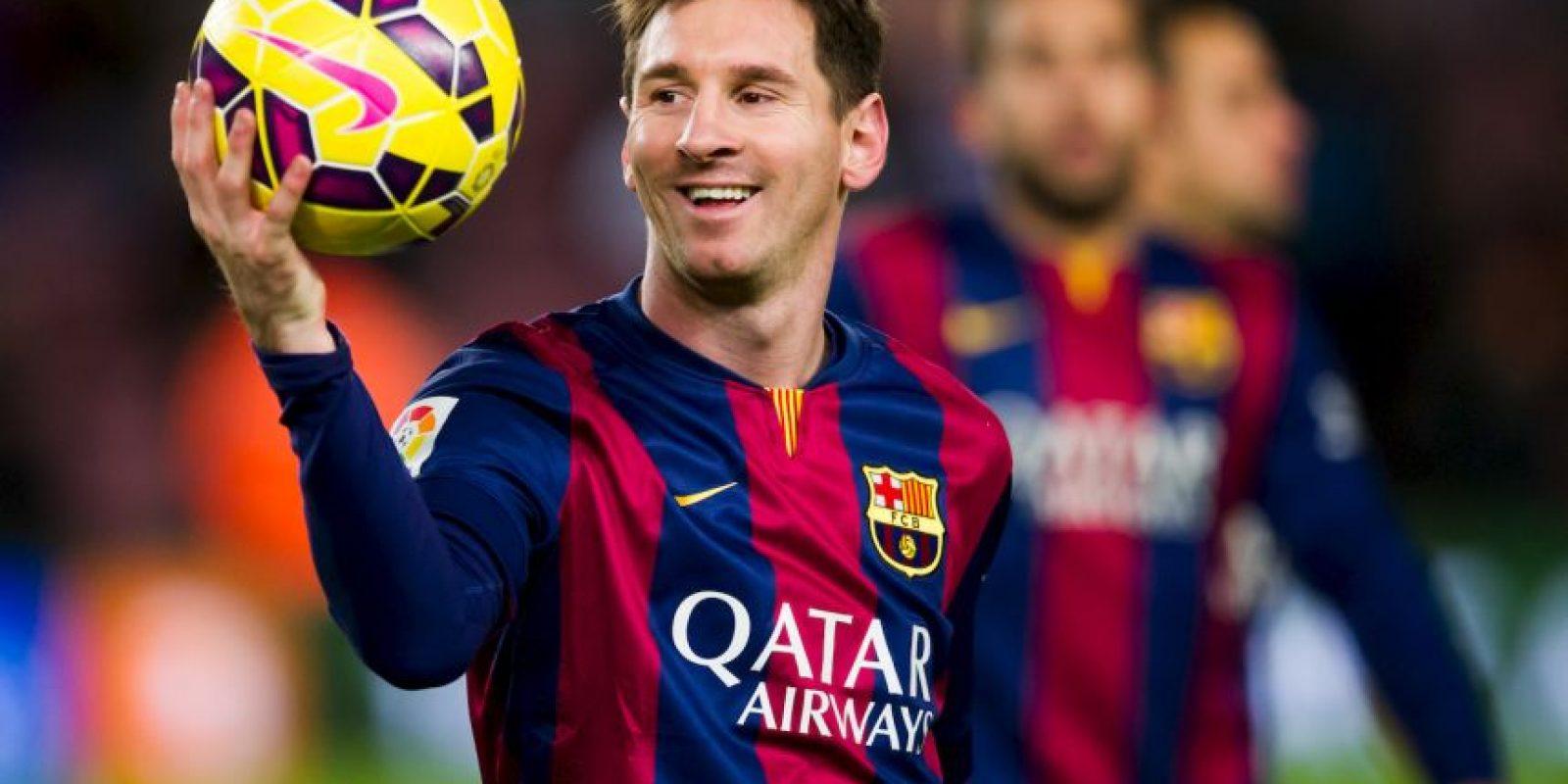 Lionel Messi es el mejor pagado del Barcelona y recibe un sueldo anual de 35 millones de euros. Foto:Getty Images