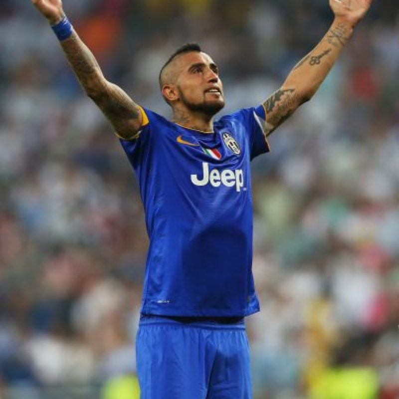 7. Arturo Vidal (Juventus) Foto:Getty Images