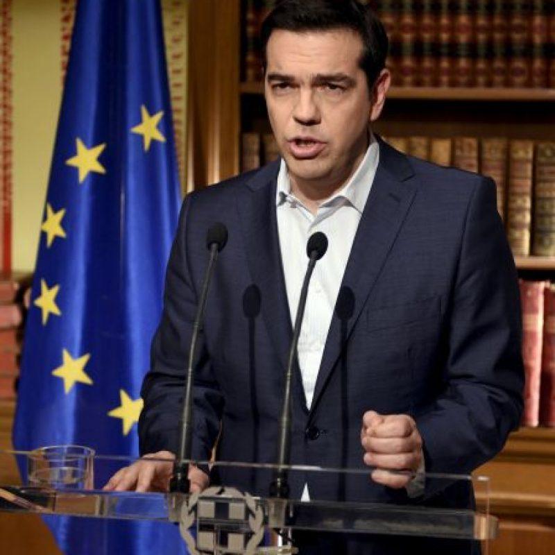 En 28 de junio confirmó el referéndum en el que el pueblo griego decidiría el futuro del país Foto:Getty Images