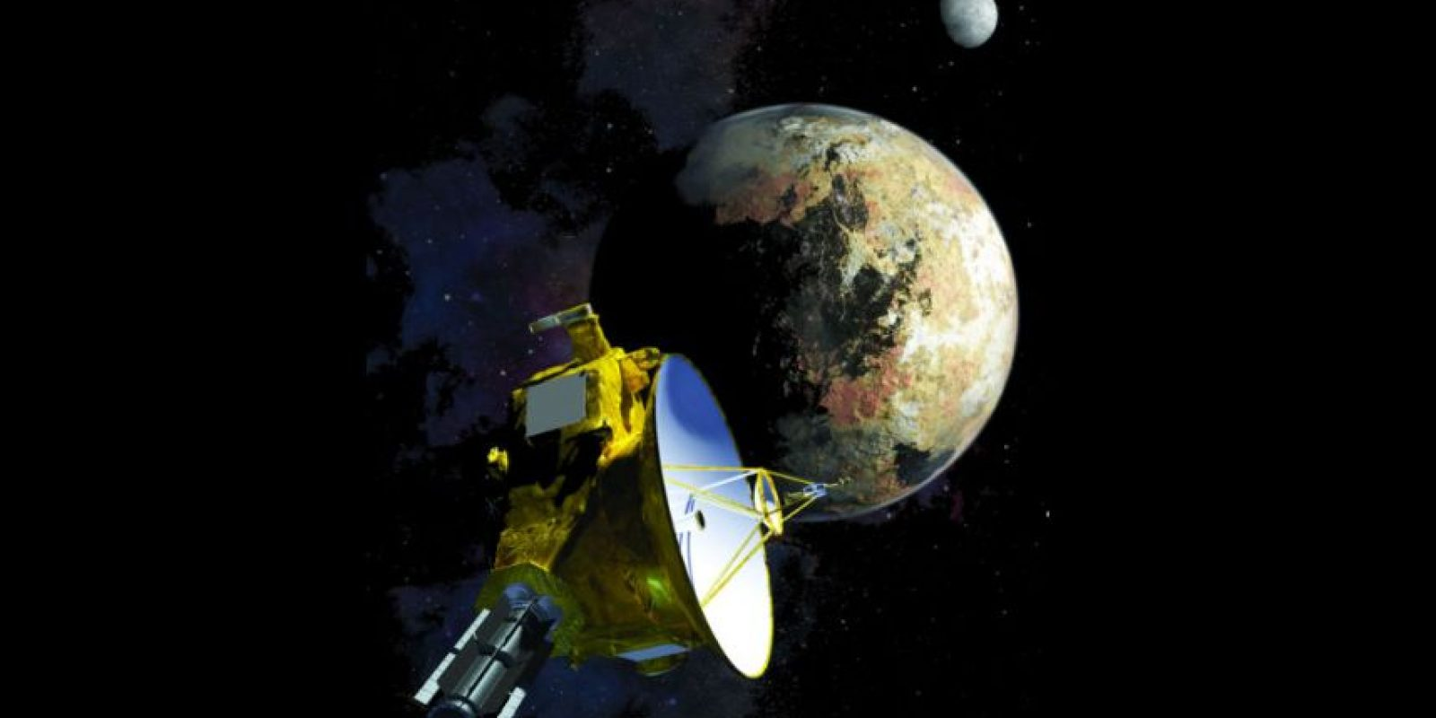 Para el 14 de julio serán: realizar imágenes de cerca de Plutón y Caronte, tomar una imagen de la cara nocturna de Plutón y tomar muestras de gases que escapan de la atmósfera. Además, se intentarán medir masas de Plutón y sus lunas. Foto:NASA