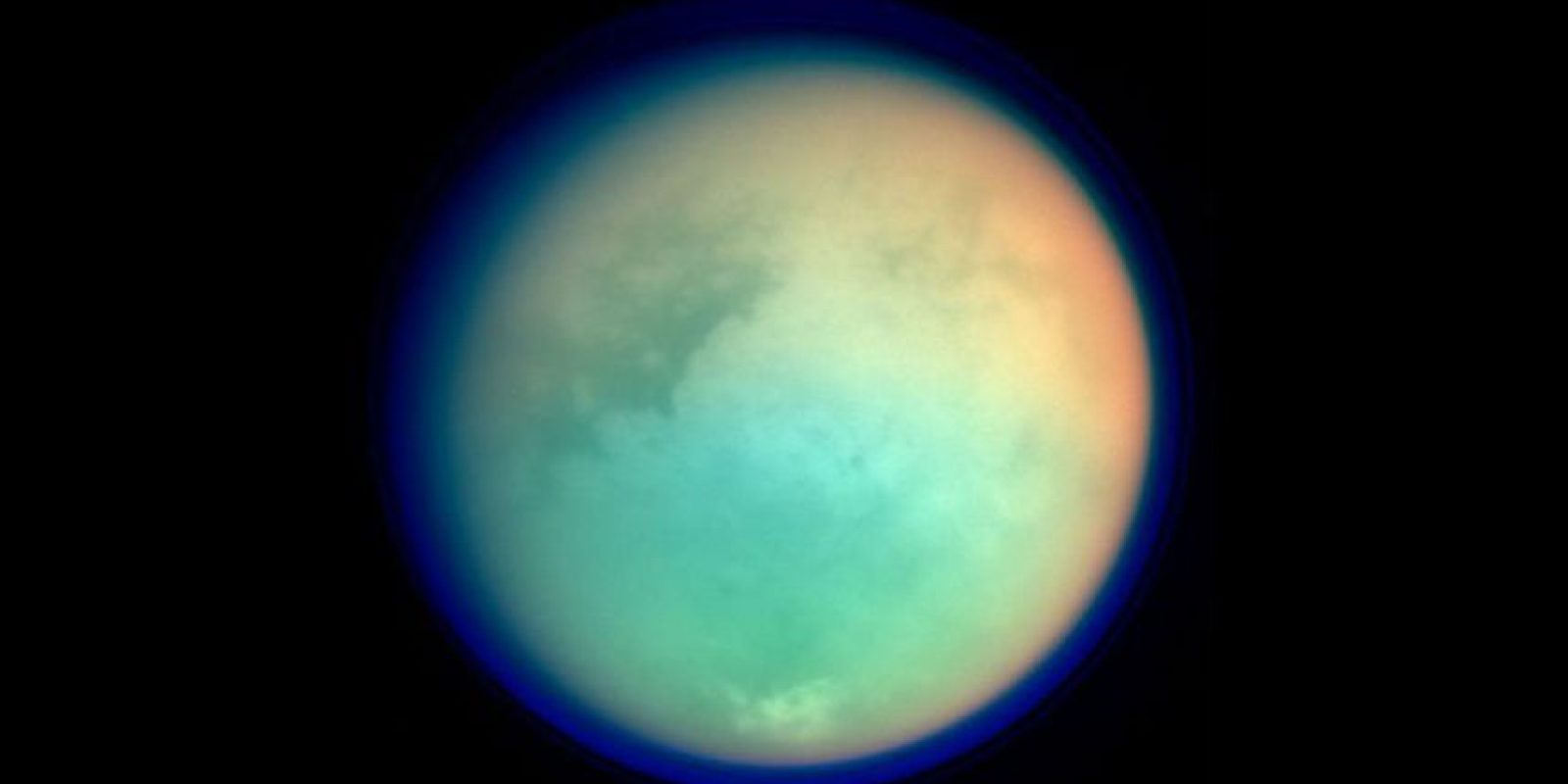 Titán Foto:NASA