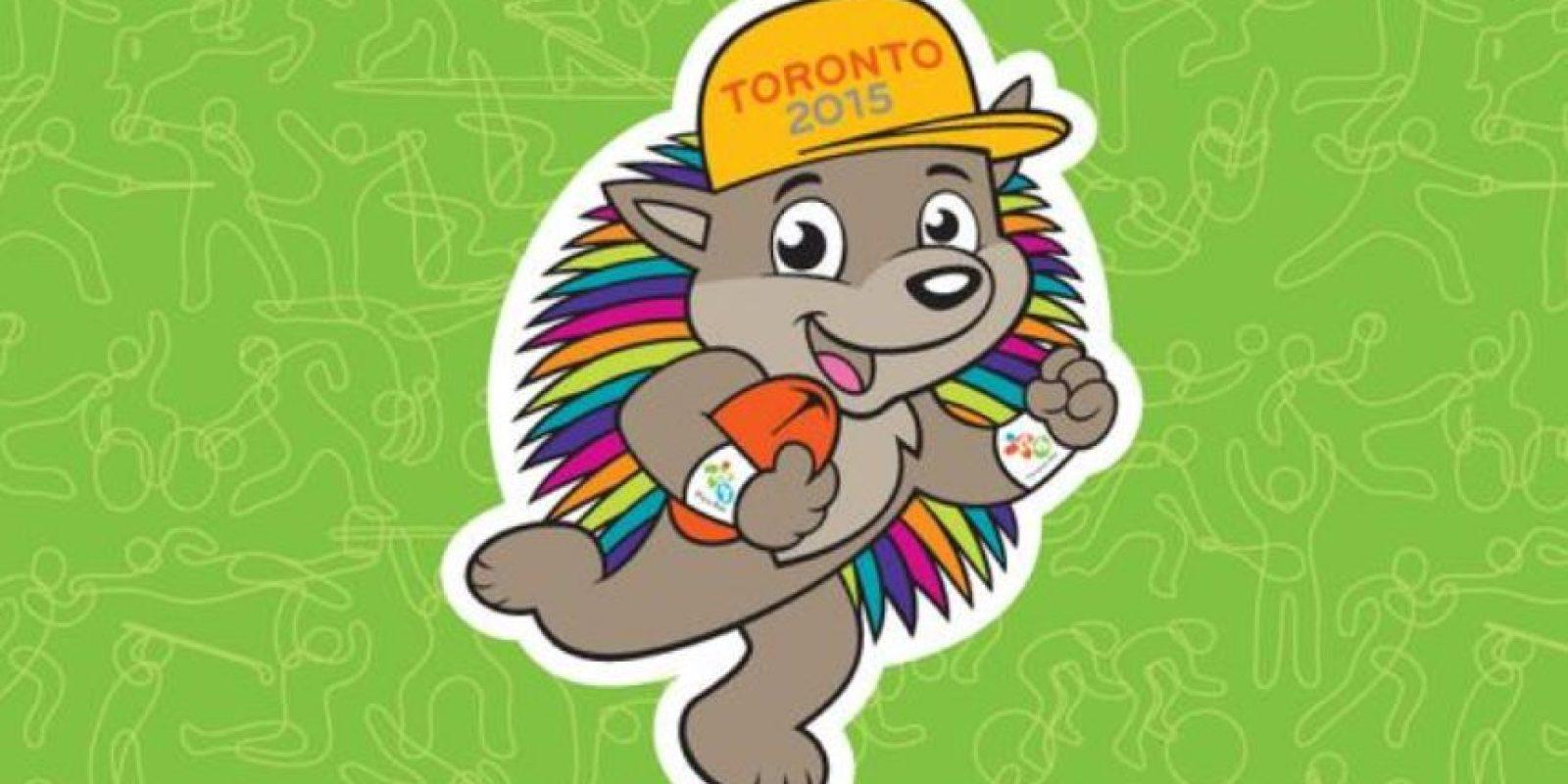 El nombre de la mascota de Toronto 2015 es Pachi Foto:Vía twitter.com/TO2015_es