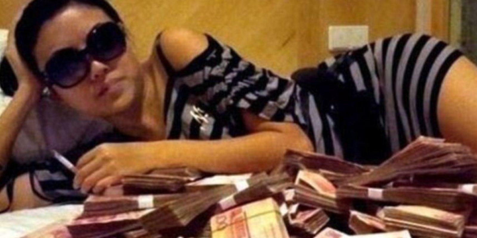 Pero a diferencia de sus pares de Beverly Hills protagonizan escándalos por doquier. Foto:vía Weibo