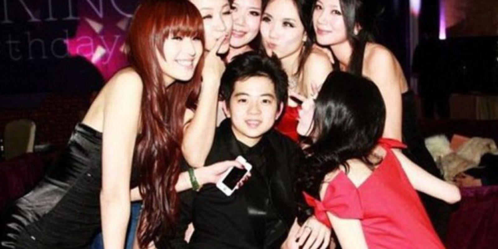 Son hijos de grandes empresarios y magnates chinos. Foto:vía Weibo