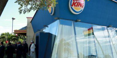 Utilizó un restaurante de comida rápida como sacristía. Foto:AP