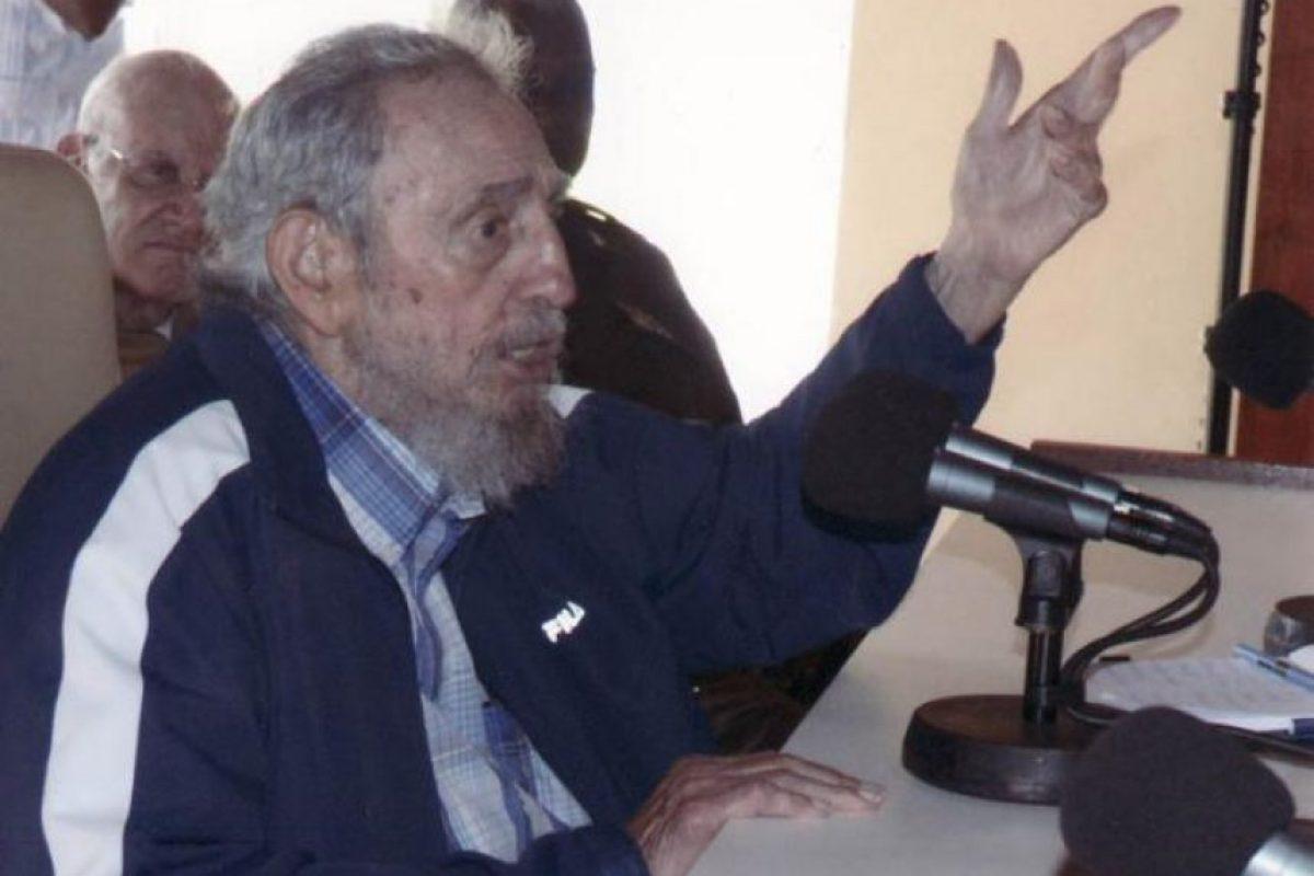 Castro habló del cambio climático, del crecimiento de la población mundial y de la escasez de agua en el mundo Foto:Granma.cu