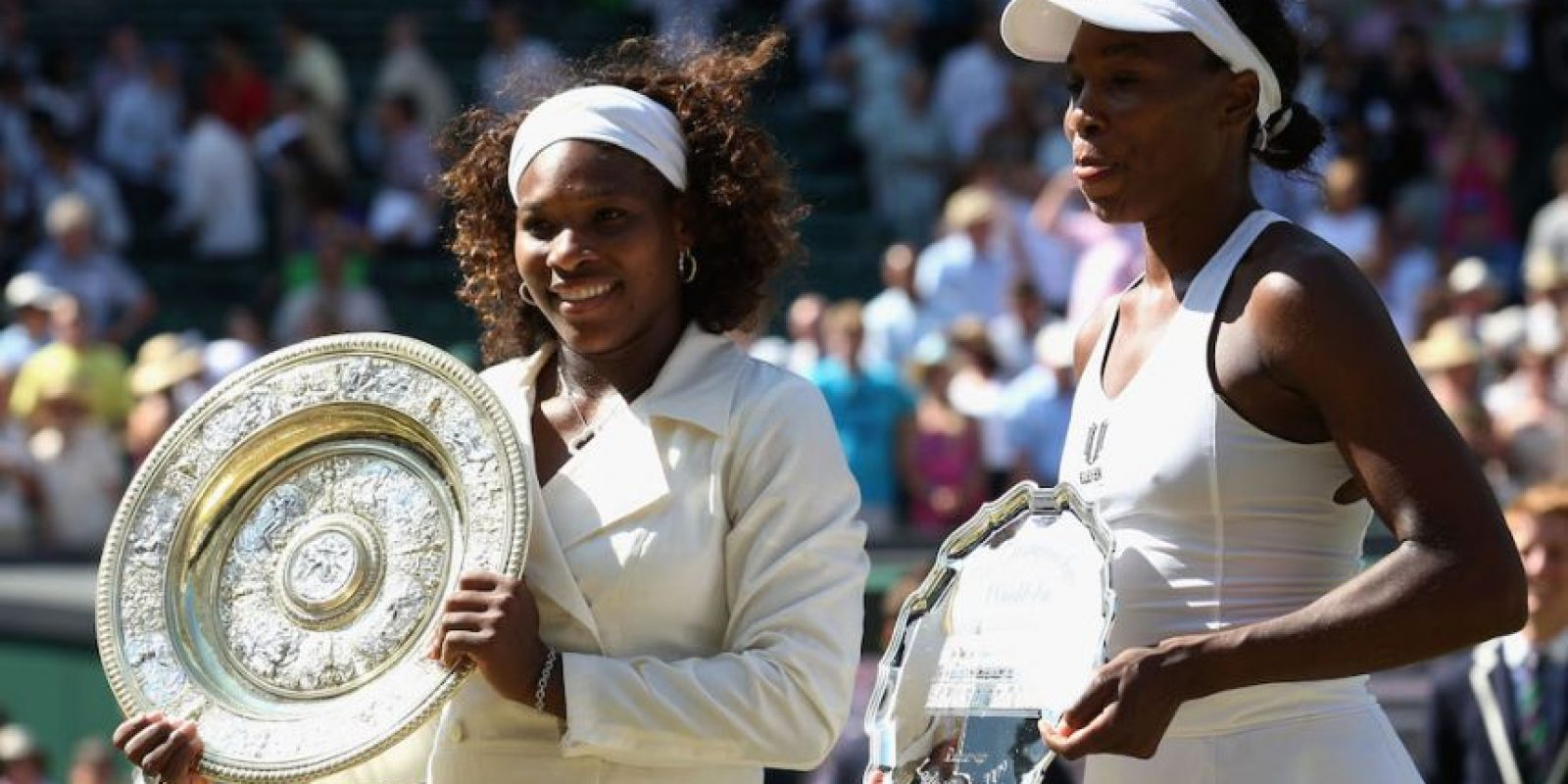 Serena ganó en dos sets ante su hermana Venus Williams. Foto: Getty Images