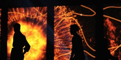 Leyendas fundacionales y un crisol de culturas se combinaron de forma exquisita en una inauguración magnífica. Foto:vía AFP