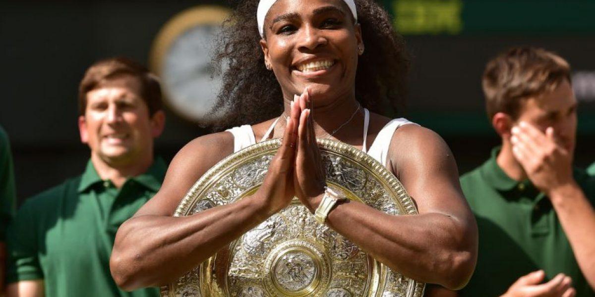 FOTOS: Los 6 títulos individuales de Serena Williams en Wimbledon