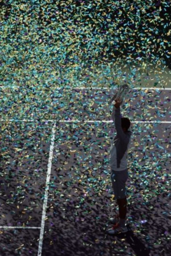 Djokovic comenzó su hegemonía ante Roger Federer. Foto:Getty Images