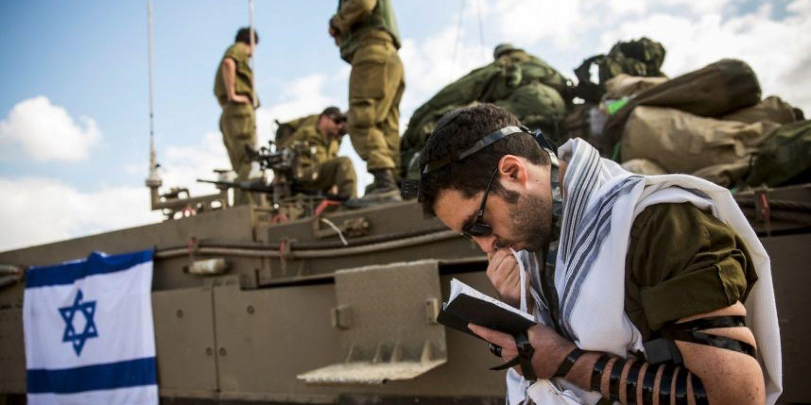 Las imágenes reflejan lo sucedido el pasado 3 de julio en la ciudad cisjordana de Ramala, en donde murió Mohamed Kusbeh, de 17 años Foto:Getty Images
