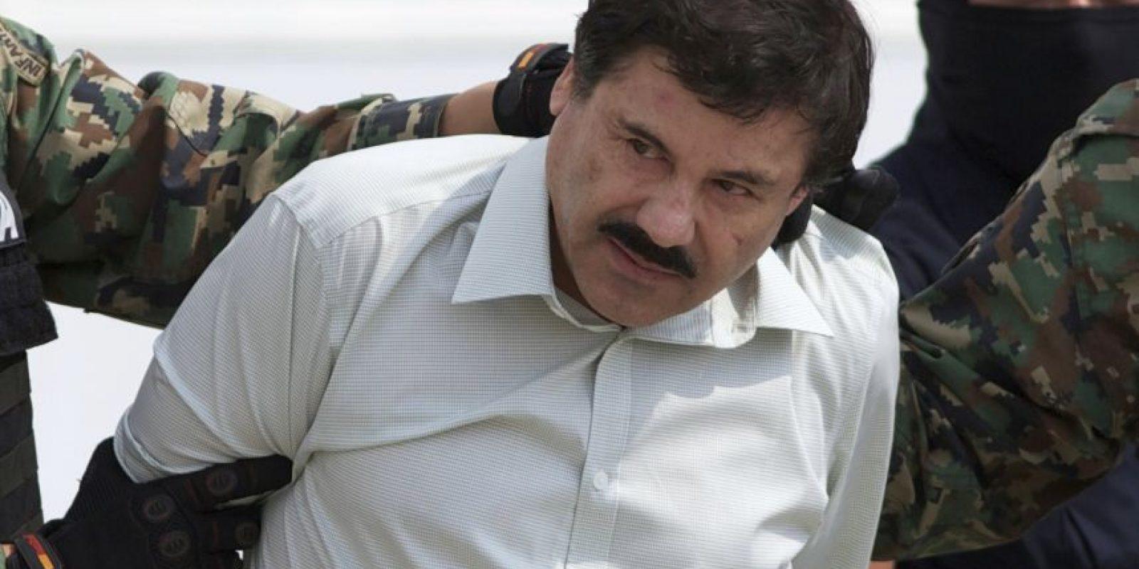 """La noche del sábado 11 de julio, el narcotraficante mexicano Joaquín Guzmán Loera """"El Chapo"""", escapó del penal de máxima seguridad de El Altiplano, después de pasar un año y 139 días preso. Foto:AP"""