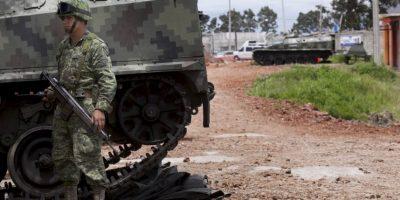 """""""Yo no sé si venga una guerra en grandes dimensiones, francamente no lo creo"""", explica Ángel Armando Rodríguez. Foto:AP"""