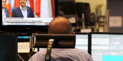 """Alexis Tsipras: """"La decisión de hoy mantiene a Grecia en condiciones de estabilidad financiera y le da la posibilidad de recuperarse"""". Foto:AFP"""
