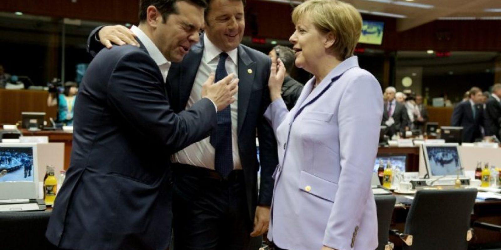 Partido, por el cual fue candidato a la alcaldía de Atenas en el año 2006. Foto:AFP