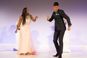 Así bailaron para festejar sus títulos. Foto:Getty Images