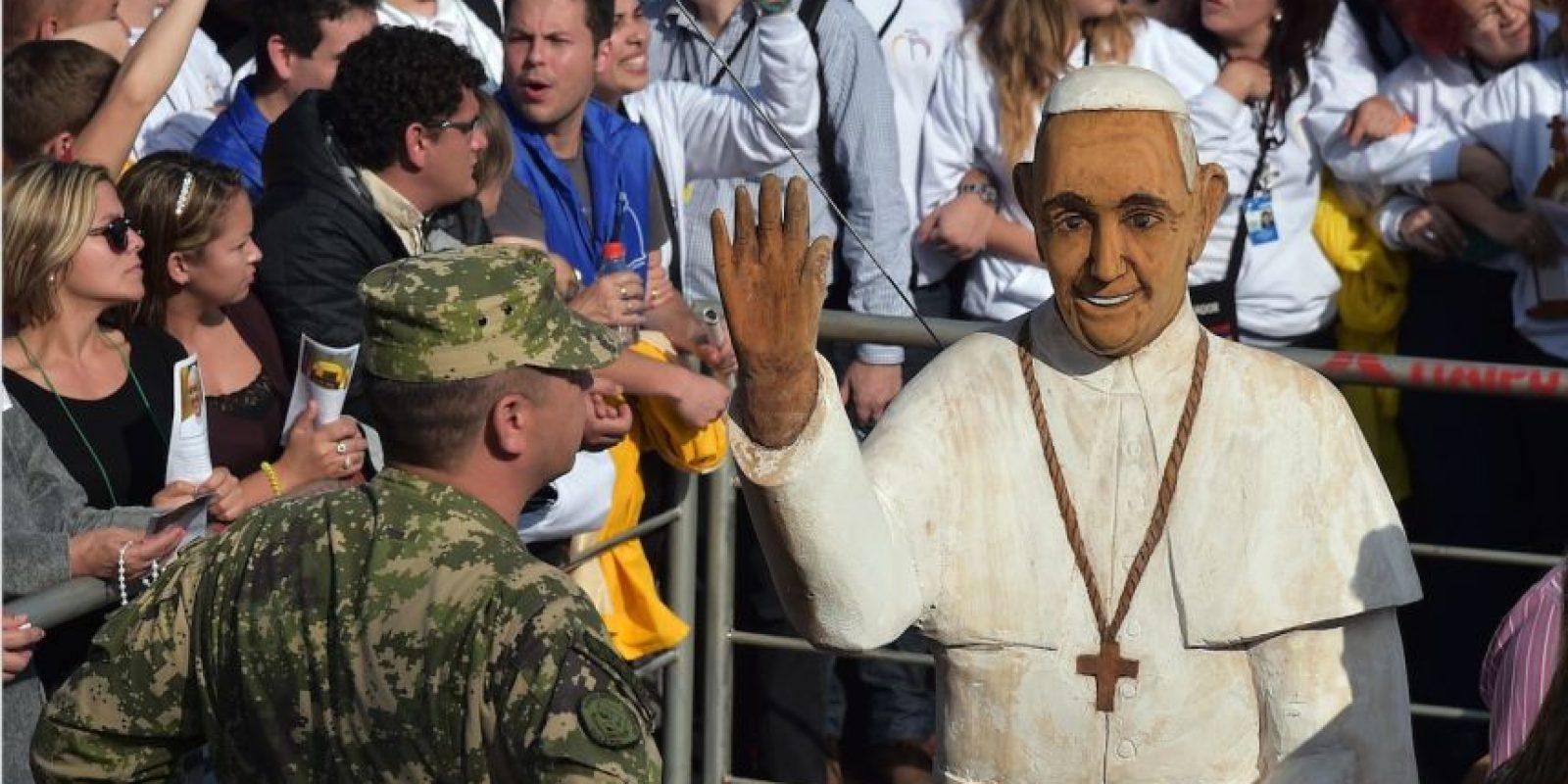 Más de un millón de personas acudieron a la misa del Papa Foto:AFP