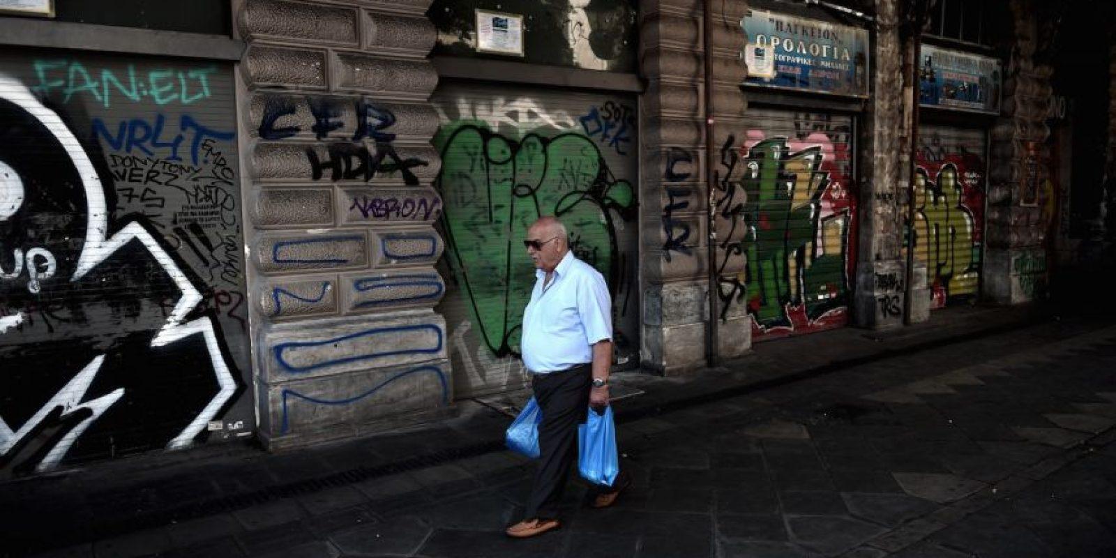 Este lunes se anunció un acuerdo entre Grecia y el Eurogrupo para negociar un tercer rescate financiero. Foto:Getty Images