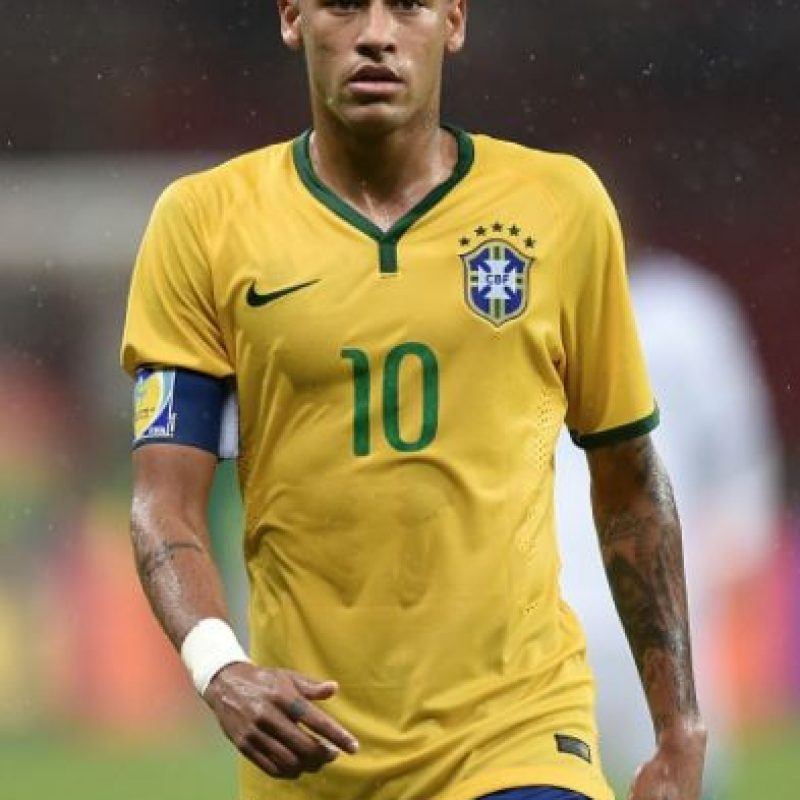 Neymar (Brasil) en la vida real. Foto:Getty Images