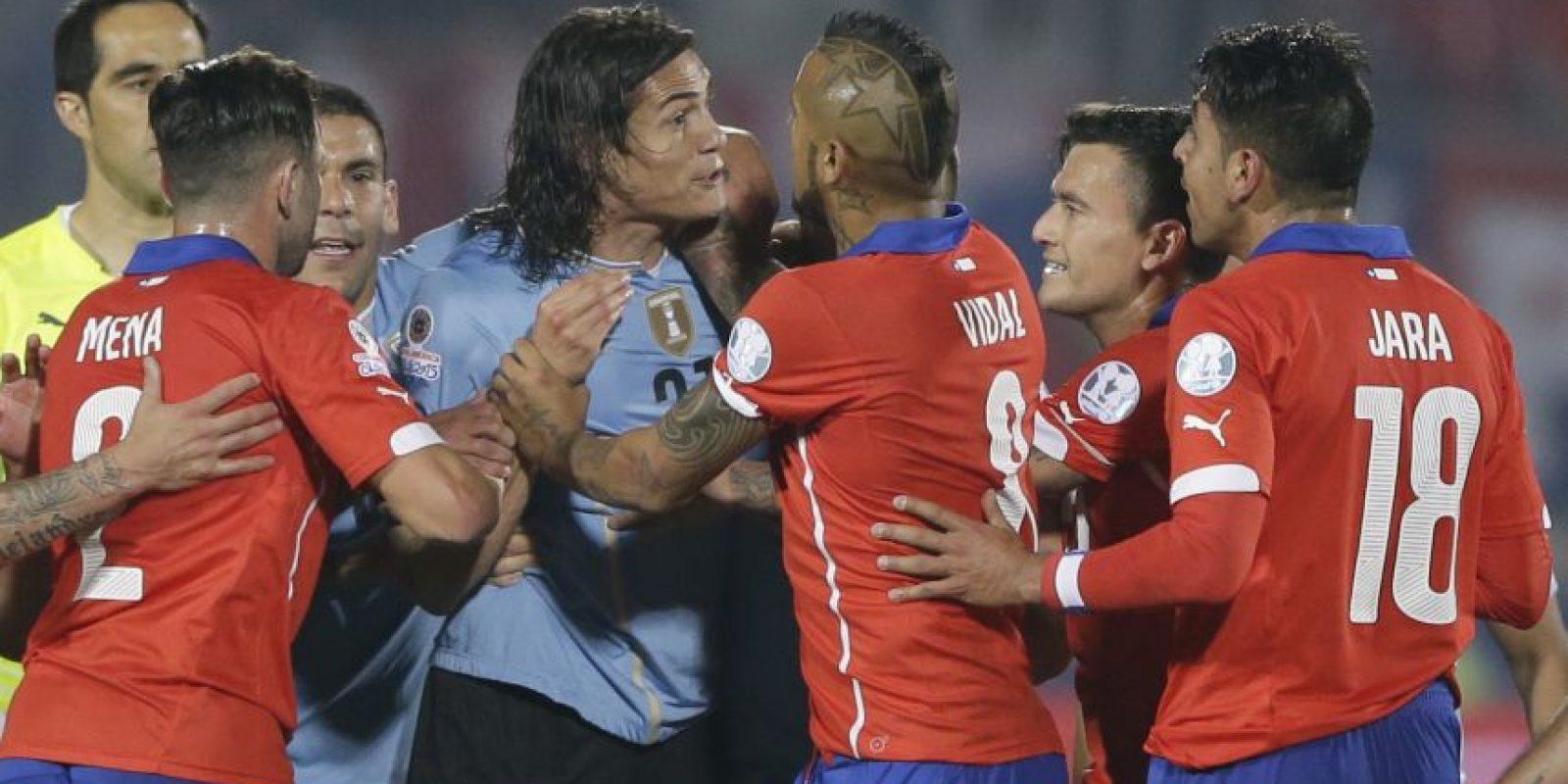 La mamá de Gonzalo Jara habría sido una de las agresoras, según la periodista colombiana de Radio Caracol, Vanessa Palacio Foto:AFP