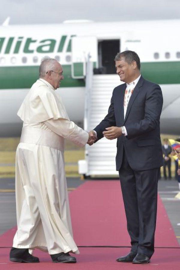 3. Este se llevó a Roma el polémico crucifijo. Foto:AP