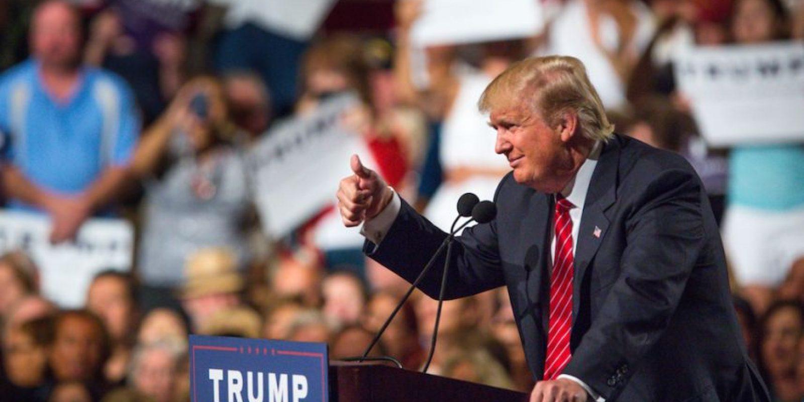 Así ha sido la campaña presidencial de Donald Trump Foto:Getty Images