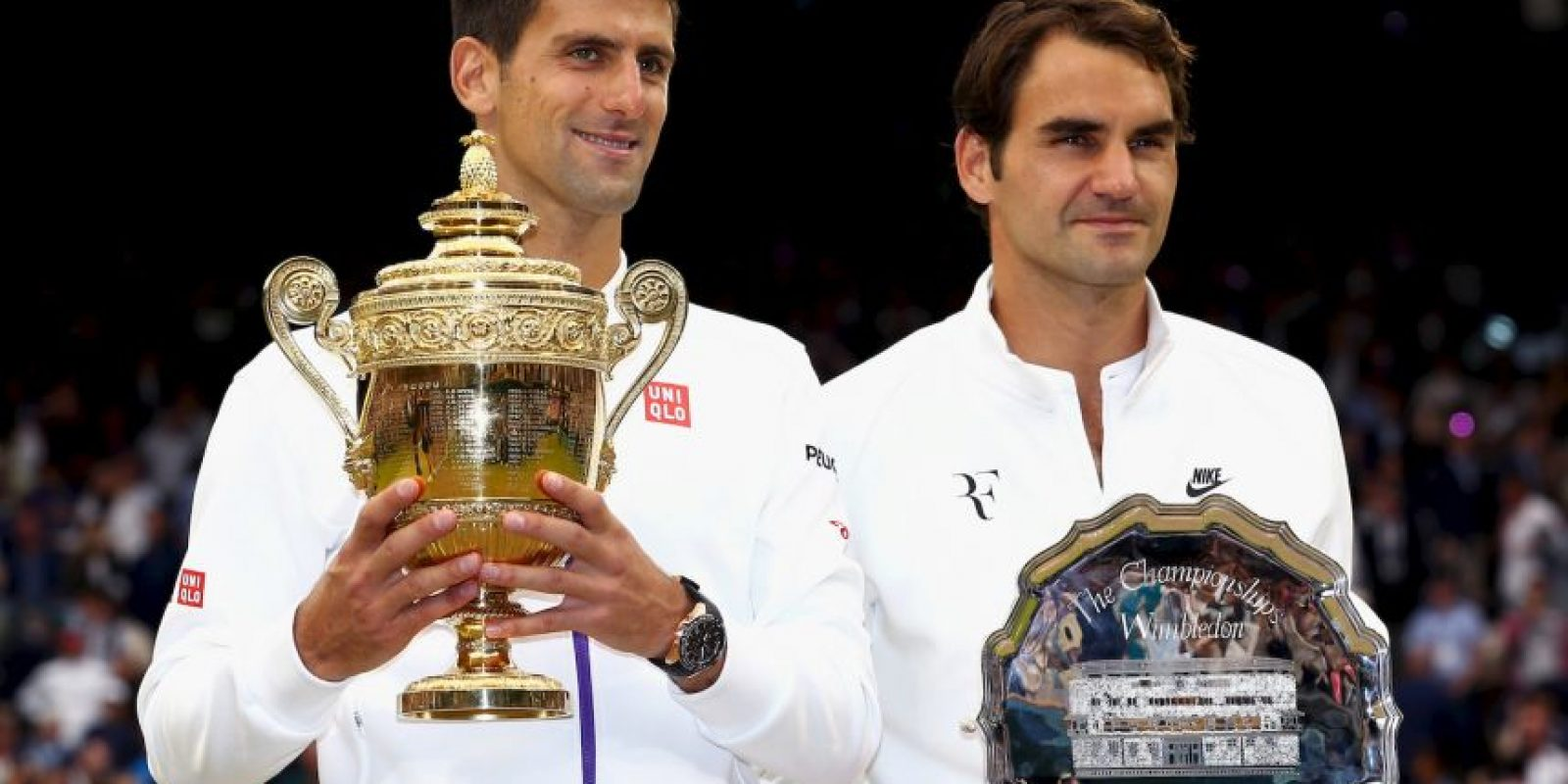 Ambos jugadores participaron en la final de Wimbledon este 12 de julio. Foto:Getty Images