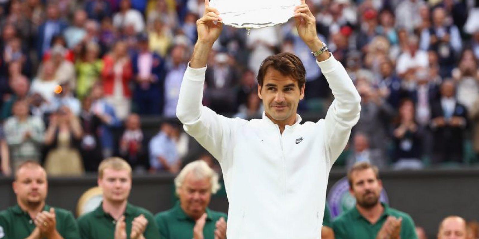 Federer sólo ganó el segundo set y se quedó sin su Grand Slam número 18. Foto:Getty Images