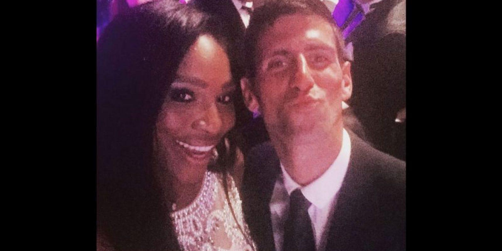 Y para el selfie juntos. Foto:Vía instagram.com/serenawilliams