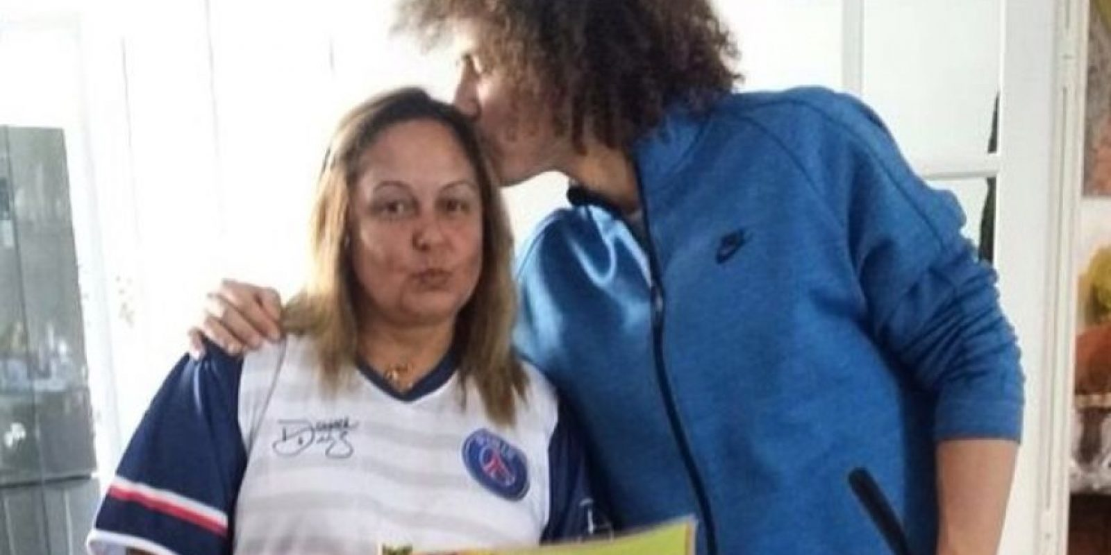 3. La progenitora de David Luiz Foto:Vía instagram.com/reginamm4