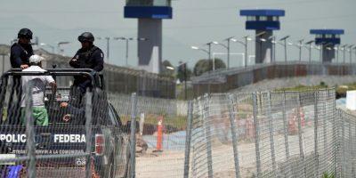 3. El túnel contaba con sistema de ventilación y en él se encontraron tanques se oxígeno y múltiples materiales de construcción. Foto:AFP