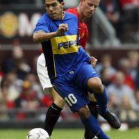 Así lucía hace 11 años, cuando militó en Boca Juniors Foto:Getty Images