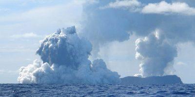 Los volcanes agrupados ocupan 20 kilómetros de largo y se encuentran a 5 kilómetros de profundidad. Foto:Getty Images