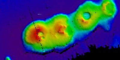 Descubren enormes volcanes submarinos de 50 millones de años en Sídney