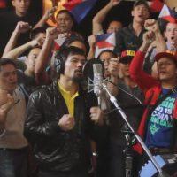 ¡Y también canta! Foto:Vía instagram.com/mannypacquiao