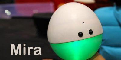 VIDEO: Empleado de Pixar creó un robot que se alegra si lo miran