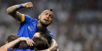 """Marcó el gol decisivo que le dio el """"Scudetto"""" a la Juventus ante Sampdoria. Ganó el doblete en Italia y la Copa América con Chile. Foto:AFP"""