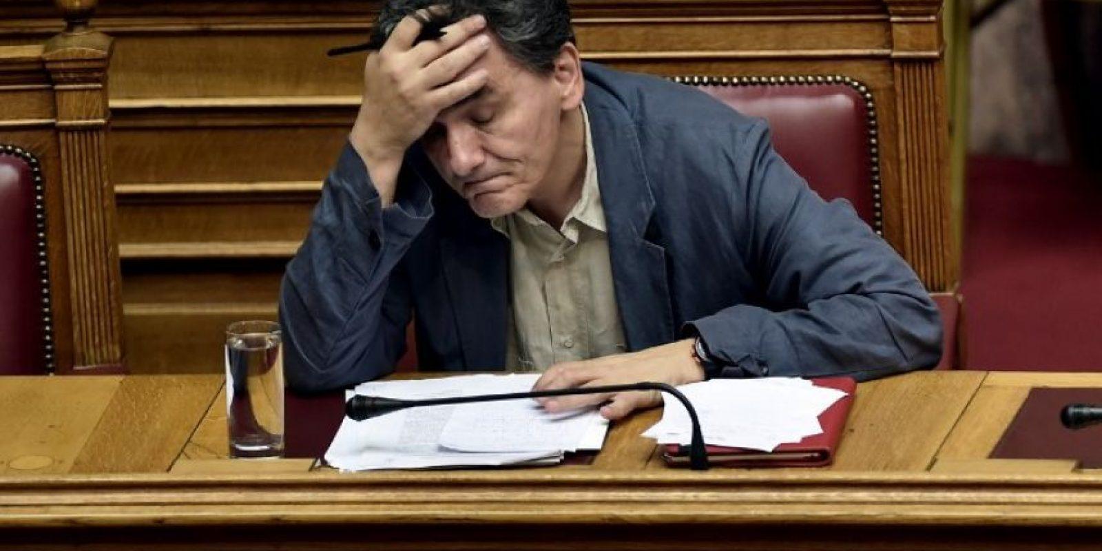 Euclides Tsakalotos, nombrado ministro de Finanzas el pasado 6 de julio Foto:AFP