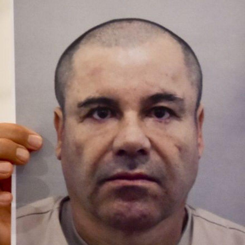 El pasado lunez 13 de julio, las autoridades mexicanas presentaron esta imagen de Guzmán Loera. Foto:AFP