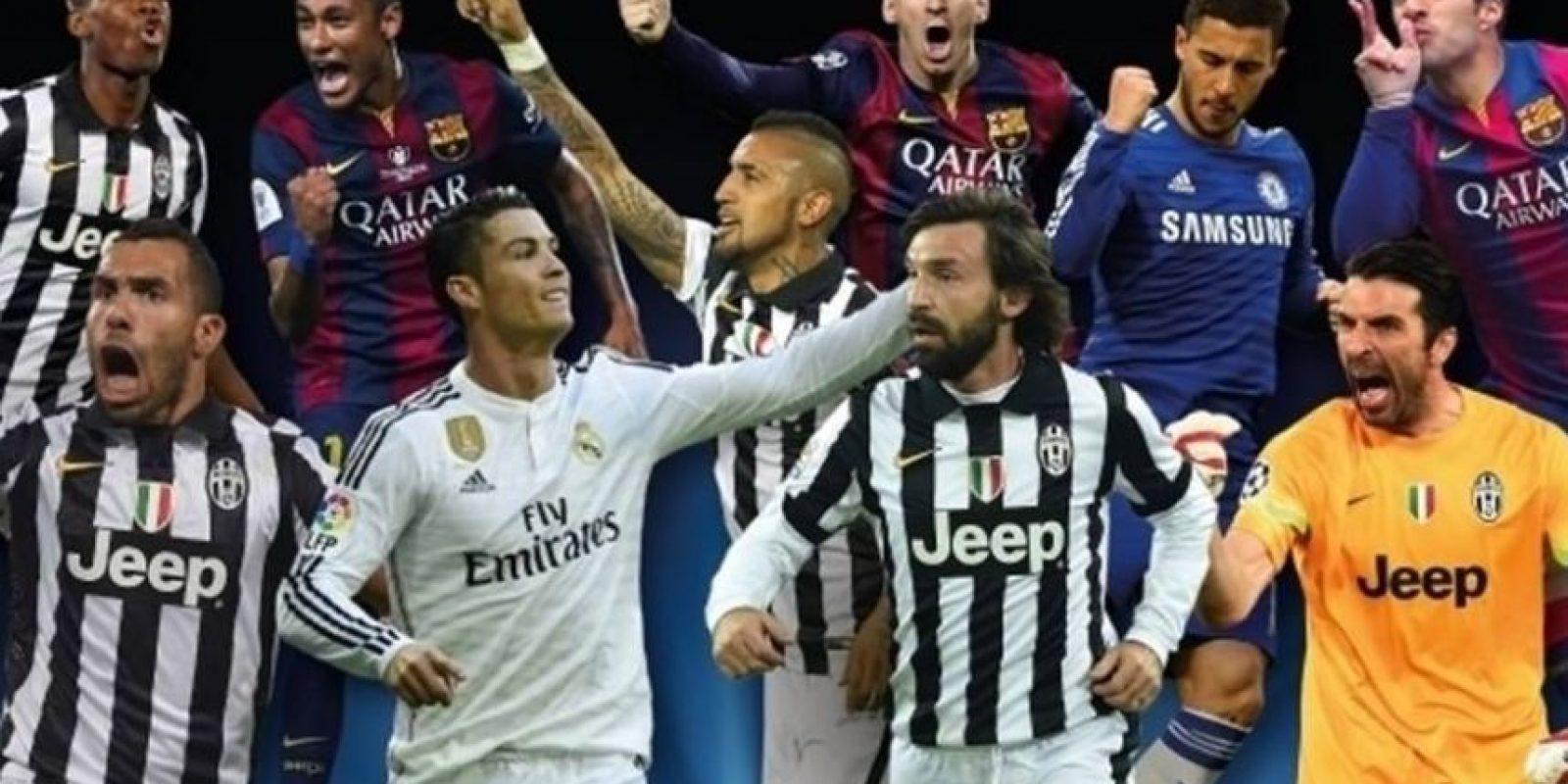 La UEFA anunció a sus candidatos para ganar el premio al Jugador del Año y ellos son los elegidos. Foto:Uefa.com