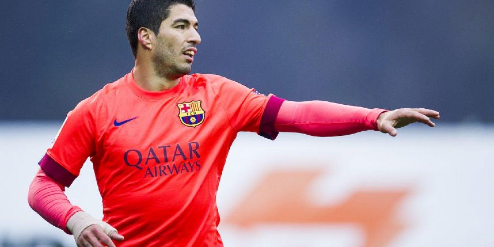 8. Luis Suárez (Uruguay) Foto:Getty Images