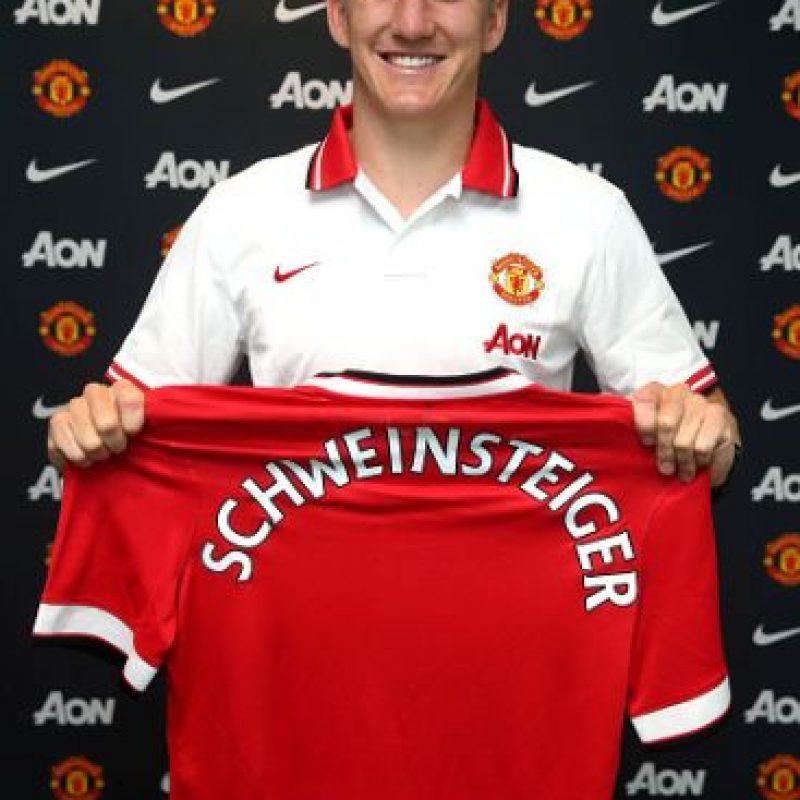El campeón del mundo en 2014 es la nueva estrella del Manchester United. Foto:Getty Images