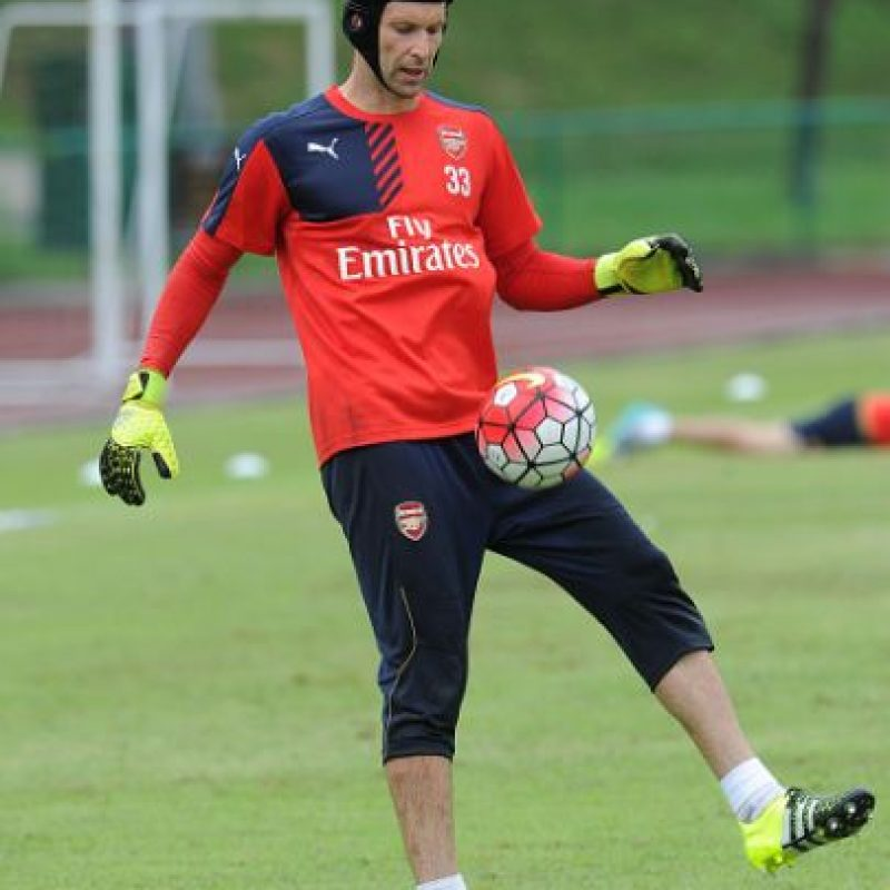 7. Petr Cech (Arsenal/República Checa) Foto: Getty Images