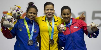 Logró la medalla de plata Foto:AP