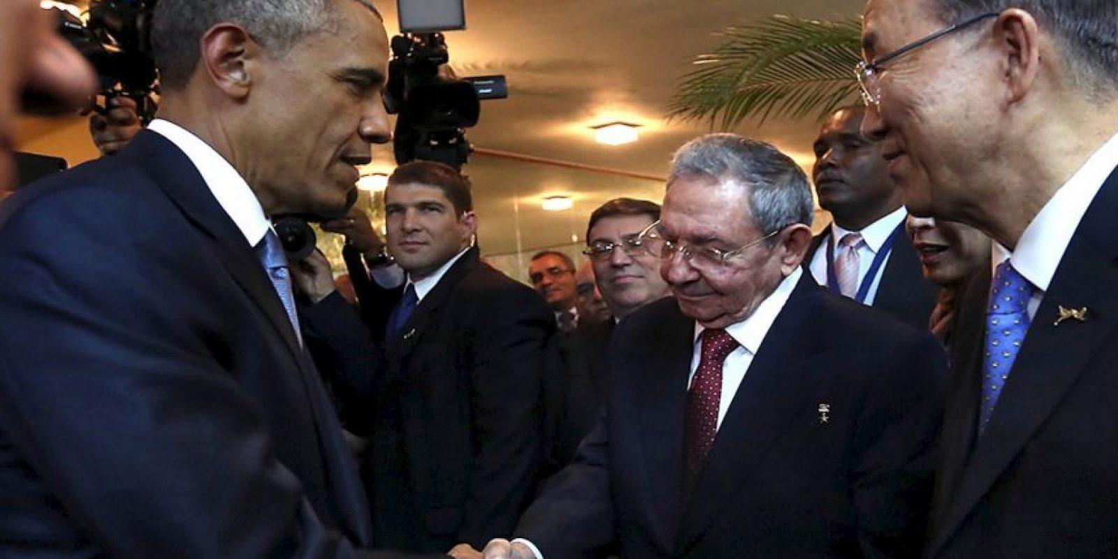 Obama pidió no hacerse tantas ilusiones pues ambos países tienen muchas diferencias ideológicas, pero confirmó que ambos encontrarán la manera de entenderse. Foto:AP