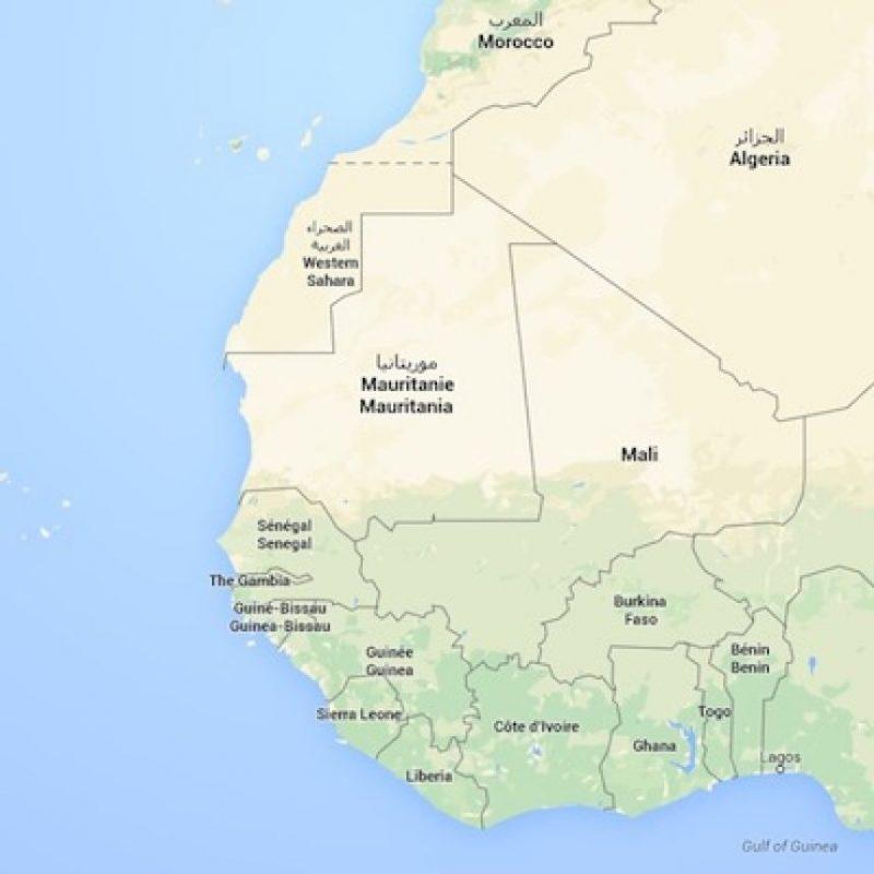 9. Mauritania Foto:Google Maps