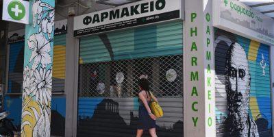 Así luce Grecia, durante este 15 de junio Foto:AFP